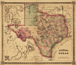 Texas Old Map